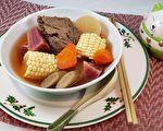 【梁厨美食】红菜头栗米牛骨汤~港式煲汤渡冷冬