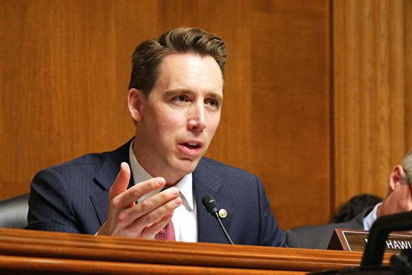 参议员霍利:美国国会需对选举诚信进行监管