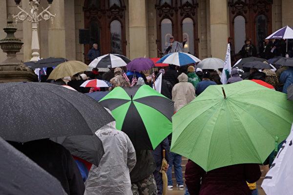 密歇根挺川集會:向神祈禱 捍衛美國傳統