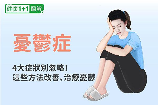 忧郁症症状、原因有哪些?如何治疗和改善?(健康1+1/大纪元)
