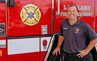 战胜罕见瘫痪 佛罗里达消防员重返职场