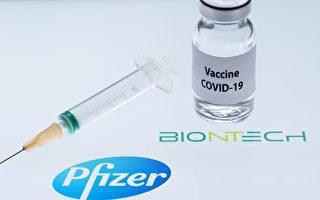 麻州将获近6万剂辉瑞疫苗