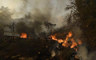 邦德火過火面積6400英畝 區域控制10%