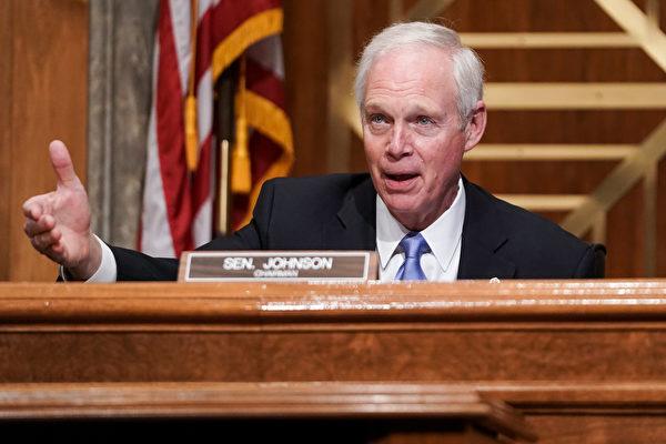 美参议员约翰逊:中共需被视为恶意行为者