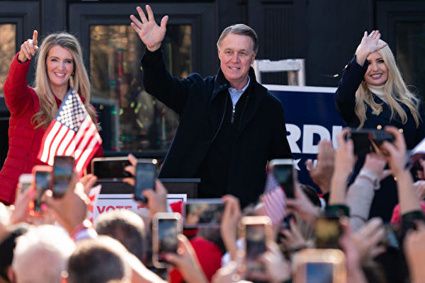 乔州联邦参议员决选 提前投票达创纪录3百万