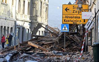 组图:克罗地亚强震 目前至少7人死亡