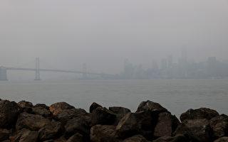 湾区周一发布空气质量警告