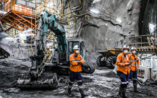 墨爾本地鐵隧道成本井噴 西門隧道工期延誤