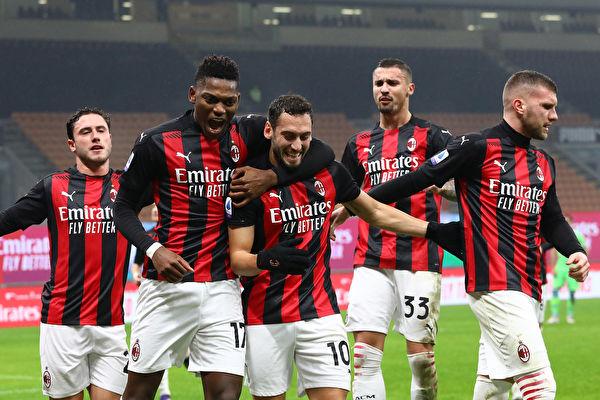 尤文意甲嚐首敗 AC米蘭五大聯賽唯一不敗