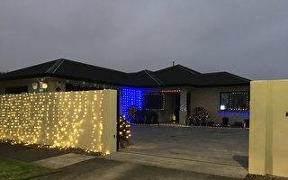 大瘟疫後慶聖誕 新西蘭平安夜燈飾精采紛呈