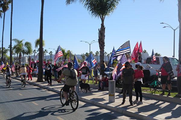 民眾呼籲:為一個自由加州而戰