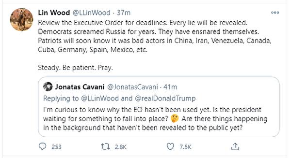 2020年11月30日林伍德律師的圖文(推特截圖)