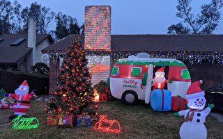 不受疫情影响 多数美国家庭早早装饰圣诞树