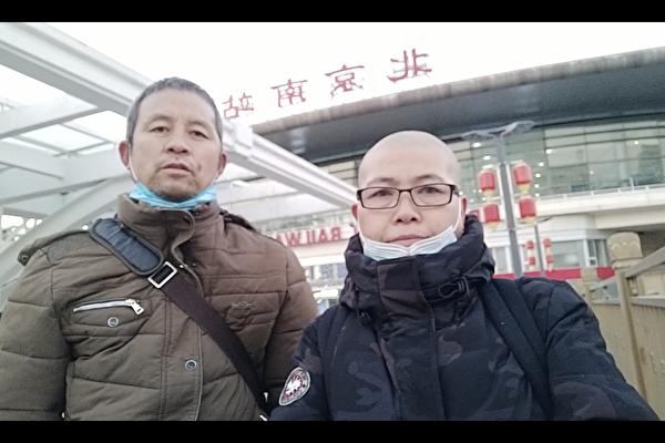 河南邢望力进京上访 天津张兰英剃发鸣冤