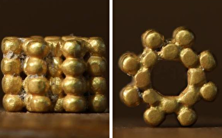 9歲童聖殿山拾獲三千年前金珠 鑄造工藝複雜