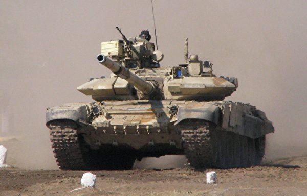 印度T-90主戰坦克(來源:維基百科)