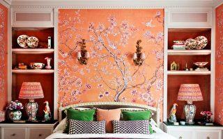 时尚壁纸品牌De Gournay承传中国手绘丝绸工艺