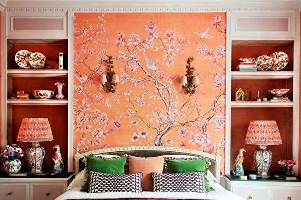 壁纸, 壁画, de Gournay