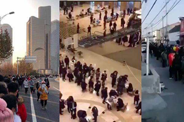 高端办公楼传疫情 北京顺义进入战时状态