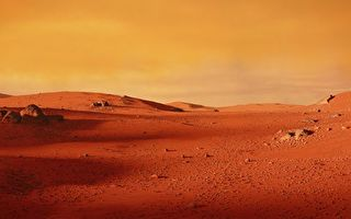 火星上发现特殊巨石