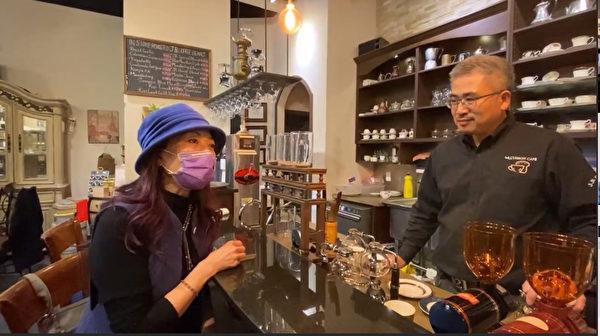 圖:「傑人咖啡生活館」第三集特為聖誕佳節製作,美酒加咖啡與美食。(大紀元圖片)