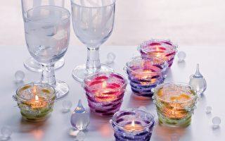 手作圆珠烛台 享受宁静的烛光浪漫