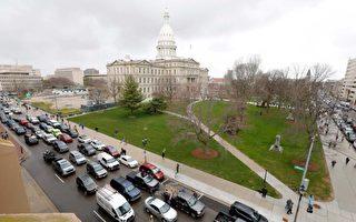 选举人团投票 密州因安全问题关闭议会大楼
