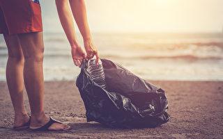 印度新婚夫婦不度蜜月 在海灘清800公斤垃圾