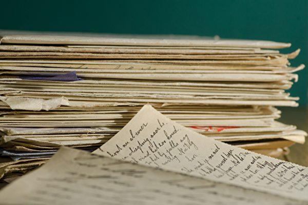 二战法国士兵200封情书重见天日 结局温馨