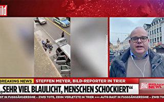 德男駕車撞人 至少二死十餘人傷