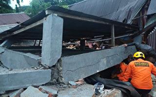 印尼發生6.2級強震 至少7死數百人受傷