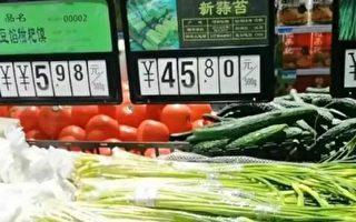 """官方称物价""""温和上涨""""民众:价格早已翻倍"""