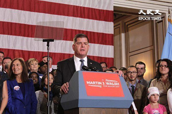波士頓市長將入閣 獲提名勞動部長