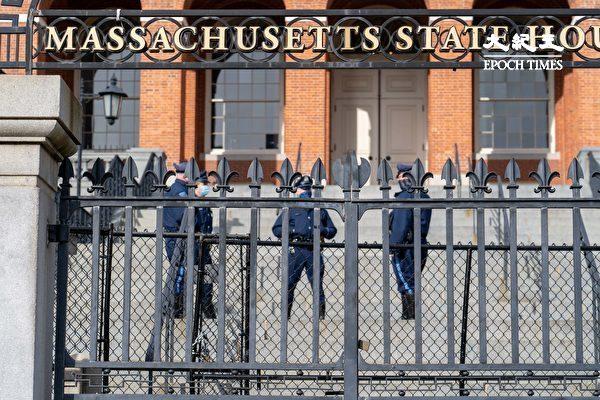 總統就職日 波士頓市中心加強安保