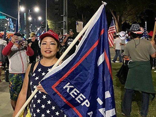 洛杉磯華人備齊補給赴華府反竊選