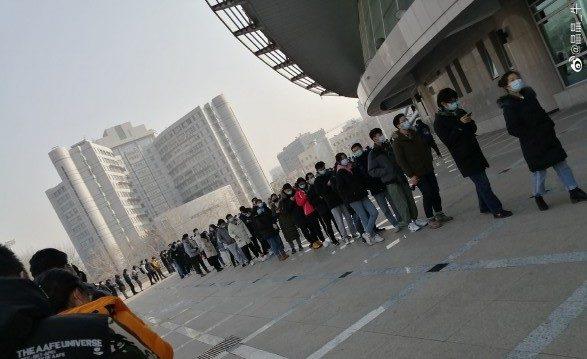 病毒逼近中南海 北京東西城區全員核酸檢測