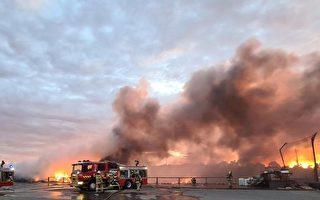 墨市气温近40度 废料堆起火 17区高度警戒