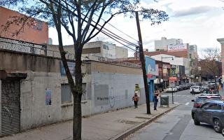 法拉盛緬街與38大道交界空地  擬建7層商住樓