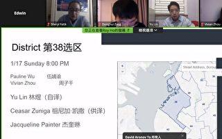 日落公園市議員論壇 華人關注教育、大麻議題