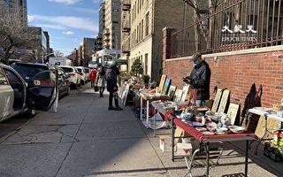 紐約市府多部門對法拉盛地攤執法  小販提心吊膽