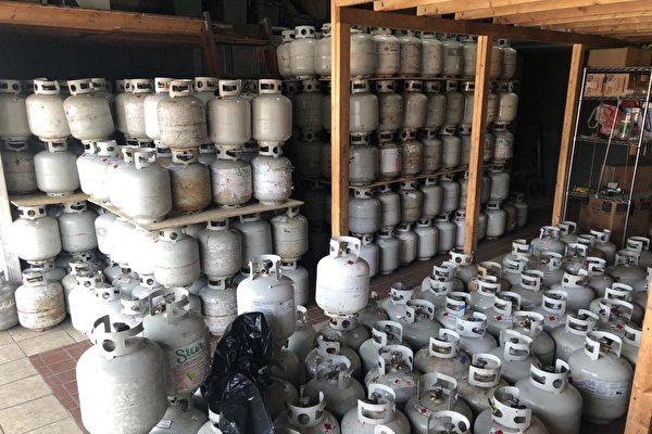 私藏904個煤氣罐 布碌崙倉庫老闆被罰
