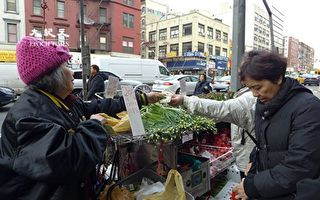 纽约市议会通过十年发四千街贩牌照