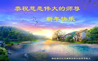 60餘行業法輪功學員恭祝李洪志師父新年好