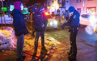 魁北克省宵禁第一周 警察执法方式惹争议