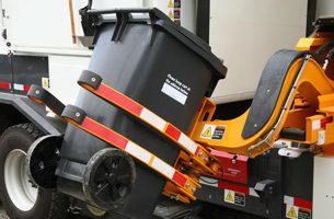 卡城黑桶垃圾收集