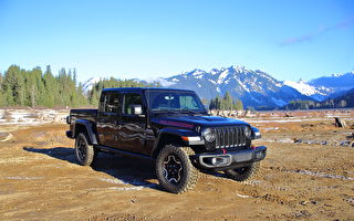 车评:柴油越野卡车 2021 Jeep Gladiator Rubicon Diesel