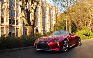 车评:高质敞蓬跑 2021 Lexus LC500 Convertible