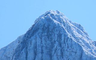 【視頻】白雪覆蓋台灣第一高峰 玉山雪景迷人