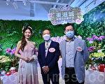 组图:香港举办新年花市 推新品兰花促销
