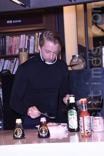 金兰特邀台湾女婿法比欧担当一日主厨